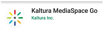 Kaltura MediaSpace Go icon