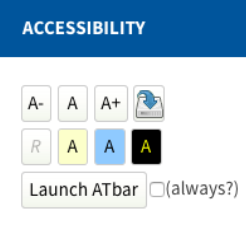 Accessibility Block